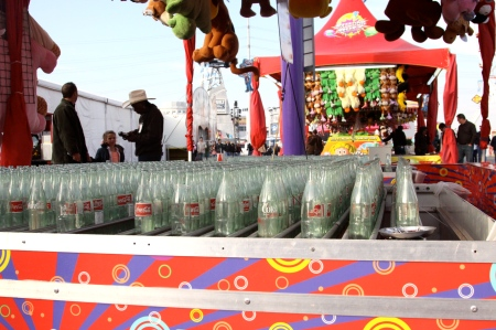 cokes in a row